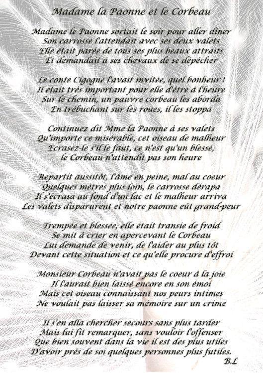 Madame la Paonne et le corbeau 5c0d5065